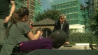 Sadiq Khan reveals 'National Park City' plan for London ENGLAND London Woodberry Wetlands Centre EXT Sadiq Khan photocall with schoolchildren as...