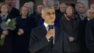 Sadiq Khan saying that the perpetrator of the Westminster terror attack is 'evil and twisted' and that 'we condemn them'