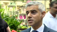 Sadiq Khan saying the fire commissioner has said the Grenfell Tower is the worst fire 'she has ever seen'