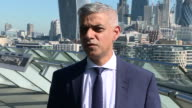 Sadiq Khan speaking about the Finsbury Park terror attack and advises people in the UK to 'remain calm but vigilant'