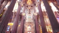 Sagrada Familia Interior, Barcelona, Spain