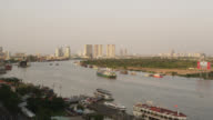 Saigon River at Sunset