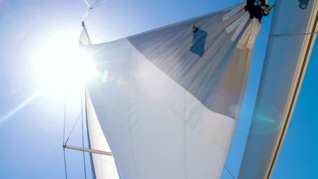 MS TD Sail Of A Sailboat