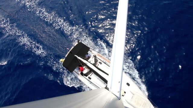 HD: Barca a vela da parte superiore dell'albero
