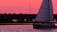 Sailboat Through Frame  – HD