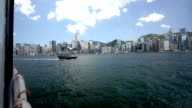 Sailing Across Victoria Harbour