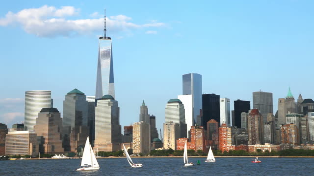 Sailing New York City