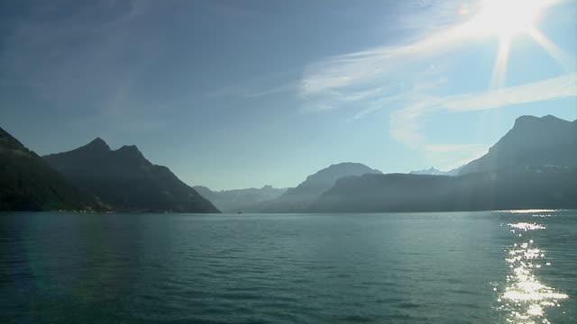 Sailing on Lake Lucerne