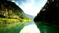 sailing on Thun lake