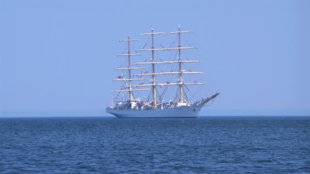 Sailing ship 'The gift of youth'