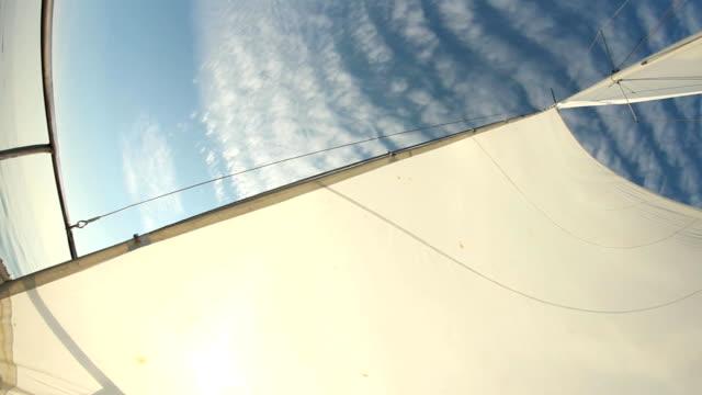 sails full of wind