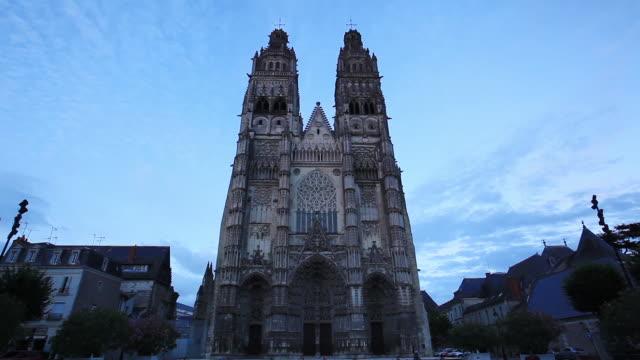 Saint Gatien Cathedral, Tours, Indre-et-Loire, Loire Valley, Centre, France, Europe