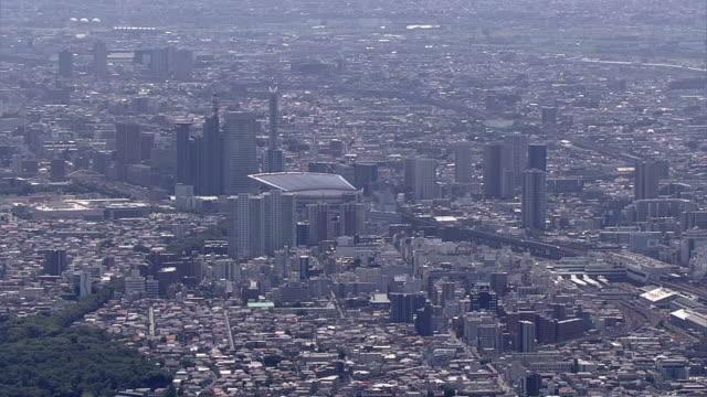 AERIAL, Saitama New Urban Center And Omiya Station, Japan
