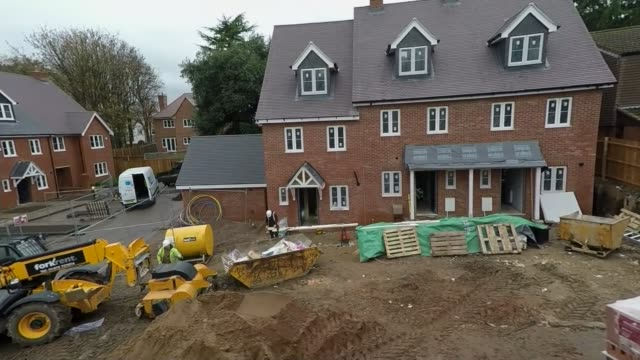 Sajid Javid calls for government to borrow to invest in new homes Date unknown New houses under construction