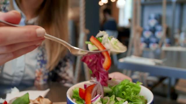 Salade, close-up