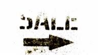 sale arrow