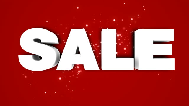 Sale logo animation HD