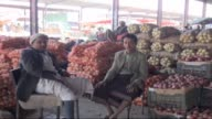 Sales decrease in wholesale market halls greengrocers and supermarkets due to political instabilityin Sanaa Yemen on 18 November 2014