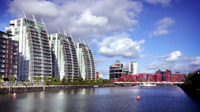 Salford Quays, Manchester, UK