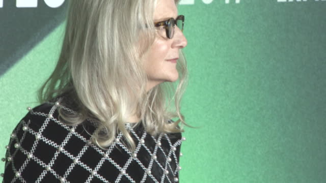 Sally Potter at 'The Party' UK Premiere 61st BFI London Film Festival at Embankment Gardens Cinema on October 10 2017 in London England