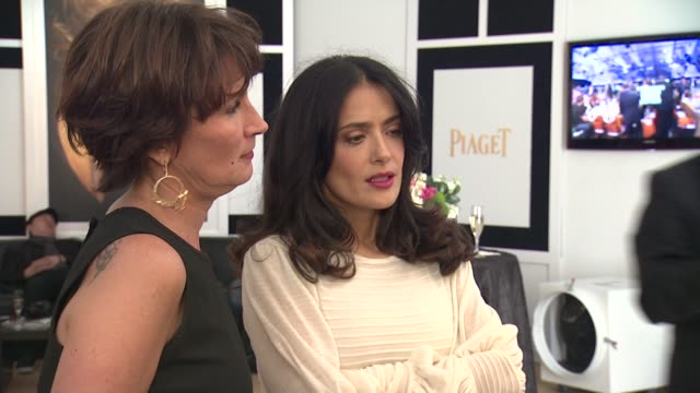 Salma Hayek at Piaget At The 2013 Film Independent Spirit Awards on 2/23/13 in Los Angeles CA