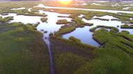 Salt marsh fly-through