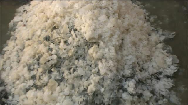Salt Of Sahara Desert