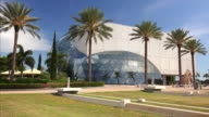 Salvador Dali Museum Exterior in St Petersburg, Florida