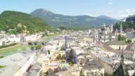 HA PAN Salzburg and Hohensalzburg Fortress in the Summer