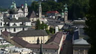 HA PAN & TILT Salzburg Skyline with Hohensalzburg Castle