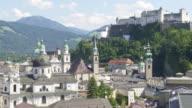 HA PAN Salzburg Skyline with Hohensalzburg Castle