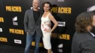 Sam Catlin Julie Ann Emery at the Premiere Of AMC's 'Preacher' Season 2 on June 20 2017 in Los Angeles California
