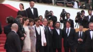 Sam Claflin Astrid BergesFrisbey Geoffrey Rush Penelope Cruz Johnny Depp Rob Marshall Jerry Bruckheimer Ian McShane