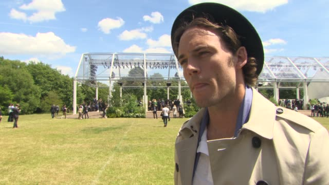 INTERVIEW Sam Claflin on being at Burberry the rumor of him being in Star Wars at London Collections Men Burberry Prorsum S/S16 catwalk show red...