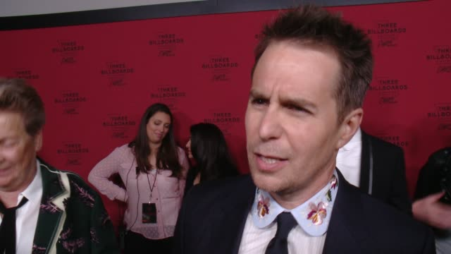 INTERVIEW Sam Rockwell on his initial reaction to the script talks about his character and what it was like working with the cast and Martin McDonagh...