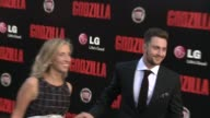Sam TaylorWood and Aaron TaylorJohnson at the 'Godzilla' Los Angeles Premiere at Dolby Theatre on May 08 2014 in Hollywood California
