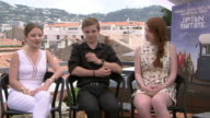 INTERVIEW Samantha Isler Nicholas Hamilton Annalise Basso on being on location in woodlands being immersed in nature how unusual that is for the...
