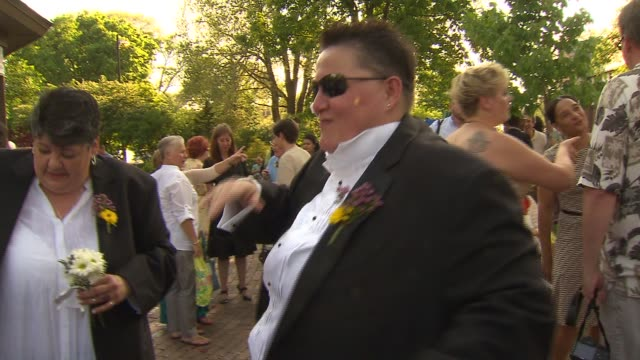Same-sex Couple Gathered To Get Married At Unity In