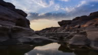 Samphan bok (3000 bok) grand canyon of Thailand. Ubonrachatani.