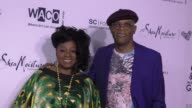 Samuel L Jackson and LaTanya Richardson at The Wearable Art Gala at California African American Museum on April 29 2017 in Los Angeles California