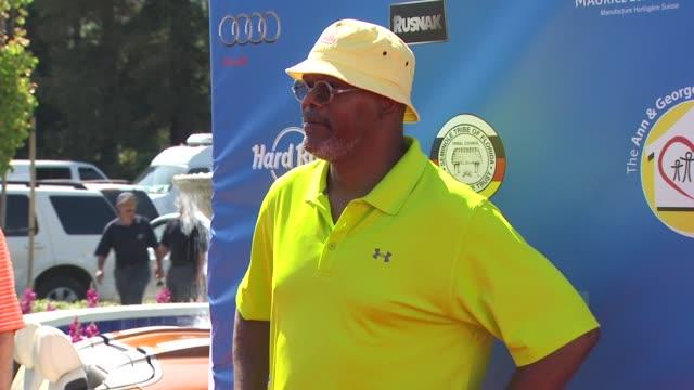Samuel L Jackson at the Third Annual George Lopez Celebrity Golf Classic 2010 Audi quattro Cup at Toluca Lake CA