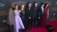 Samuel L Jackson Ella Purnell Lauren McCrostie Tim Burton Asa Butterfield Finlay MacMillan and Eva Green at 'Miss Peregrine's Home For Peculiar...