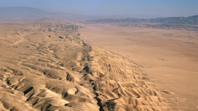 'San Andreas Fault, aerial'