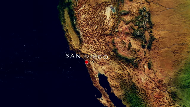 San Diego 4K  Zoom In
