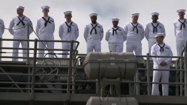 KSWB San Diego based sailors and Marines got to hold their babies for the first time About 4500 Sailors and Marines arrived They were part of the...