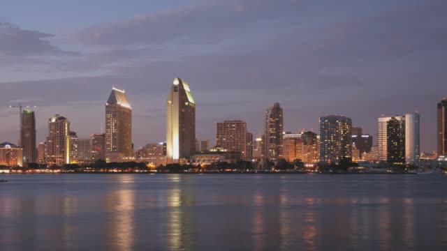 San Diego Skyline Time Lapse Zoom