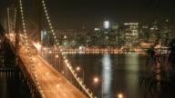 San Francisco Bay Bridge Time Lapse