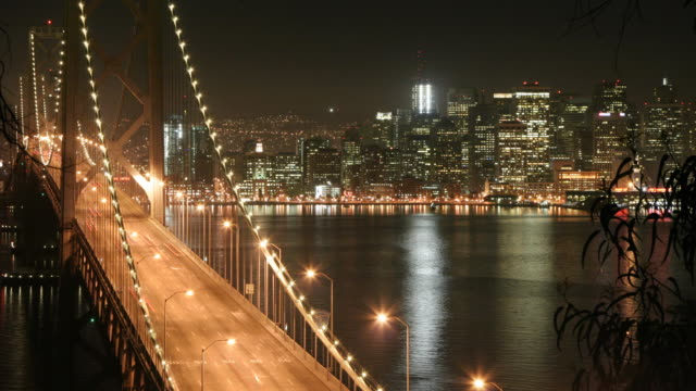 San Francisco Bay Bridge Time Lapse