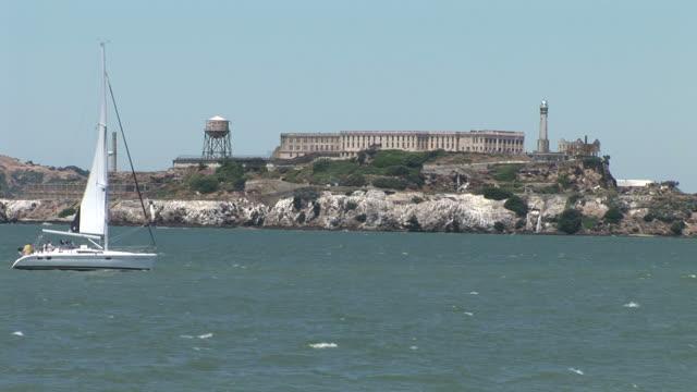 San FranciscoView of Alcatraz Island in San Francisco United States