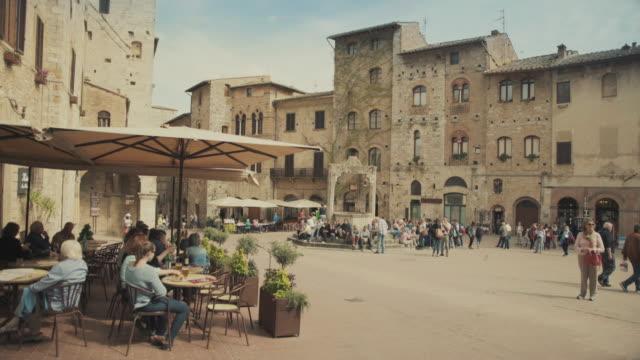 San Gimignano, Toscane in Italië
